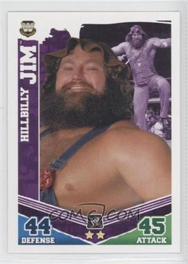 2010 Topps WWE Slam Attax Mayhem [???] #N/A - Hillbilly Jim