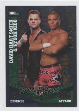 2010 Topps WWE Slam Attax Mayhem Champions #DSTK - David Hart Smith & Tyson Kidd