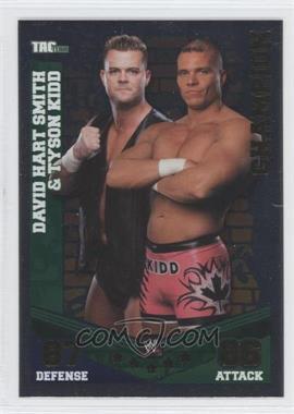 2010 Topps WWE Slam Attax Mayhem Champions #DSTK - David Hart Smith & Tyson Kidd