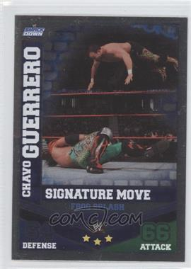 2010 Topps WWE Slam Attax Mayhem Signature Moves #CHGU - Chavo Guerrero Jr.