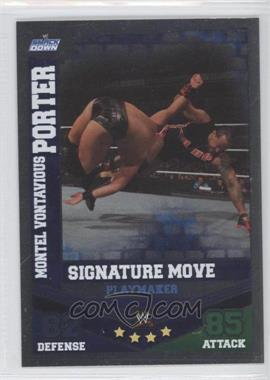 2010 Topps WWE Slam Attax Mayhem Signature Moves #MOPO - Montel Vontavious Porter