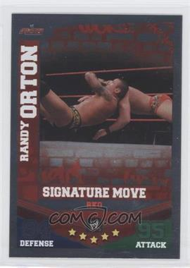 2010 Topps WWE Slam Attax Mayhem Signature Moves #RAOR - Randy Orton