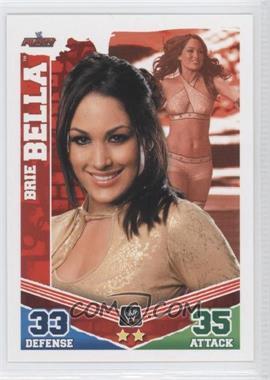 2010 Topps WWE Slam Attax Mayhem #BRBE - Brie Bella