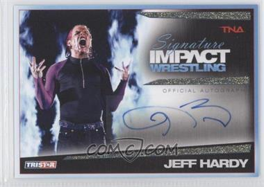 2011 TRISTAR TNA Signature Impact Wrestling Autographs Gold #S8 - Jeff Hardy /25