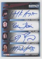 Hulk Hogan, Ric Flair, Jeff Hardy, Matt Hardy /5