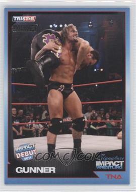 2011 TRISTAR TNA Signature Impact Wrestling Silver #26 - Gunner /50