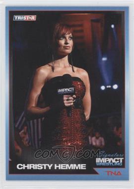 2011 TRISTAR TNA Signature Impact Wrestling #54 - Christy Hemme