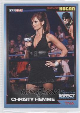2011 TRISTAR TNA Signature Impact Wrestling #84 - Christy Hemme