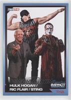 Hulk Hogan, Ric Flair, Sting