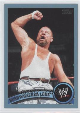2011 Topps WWE Blue #100 - Bushwhacker Luke /2011