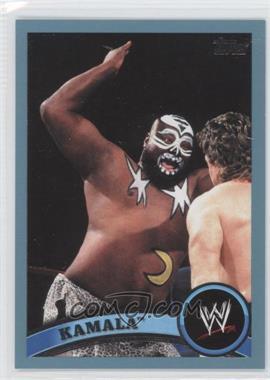 2011 Topps WWE Blue #107 - Kamala /2011