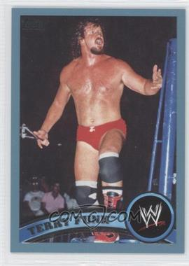 2011 Topps WWE Blue #108 - Terry Funk /2011