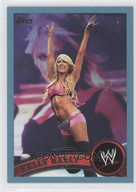 2011 Topps WWE Blue #27 - Kelly Kelly /2011