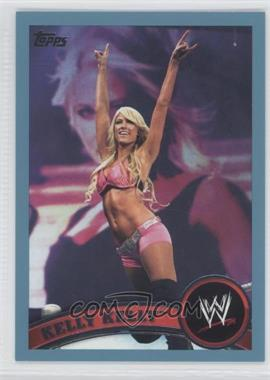 2011 Topps WWE Blue #27 - Kelly Kelly /2011