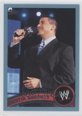 2011 Topps WWE Blue #59 - Justin Roberts /2011