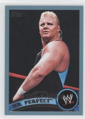 2011 Topps WWE Blue #93 - Mr. Perfect /2011