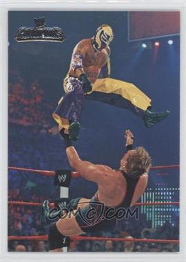 2011 Topps WWE Champions #12 - World Heavyweight Champions - Rey Mysterio