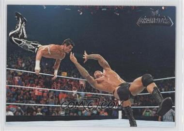 2011 Topps WWE Champions #48 - Highlights - Randy Orton