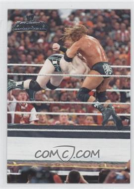 2011 Topps WWE Champions #5 - Wrestlemania XXVI - Triple H, Sheamus
