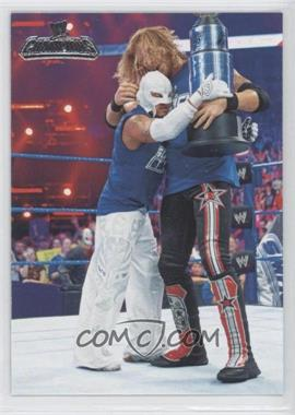 2011 Topps WWE Champions #53 - Highlights - Edge, Rey Mysterio