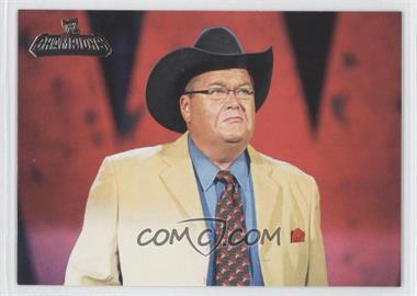 2011 Topps WWE Champions #73 - Highlights - Jim Ross