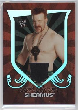 2011 Topps WWE Classic Relics #SHEA - Sheamus