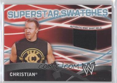 2011 Topps WWE Superstar Swatches #N/A - Christian