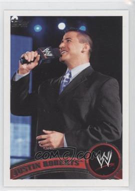 2011 Topps WWE #59 - Justin Roberts