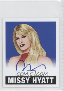 2012 Leaf Originals Wrestling - Alternate Art - Blue #A-MH1 - Missy Hyatt /10