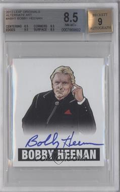 2012 Leaf Originals Wrestling - Alternate Art #A-BH1 - Bobby Heenan [BGS8.5]
