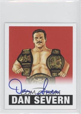 2012 Leaf Originals Wrestling - [Base] - Red #DS1 - Dan Severn /10