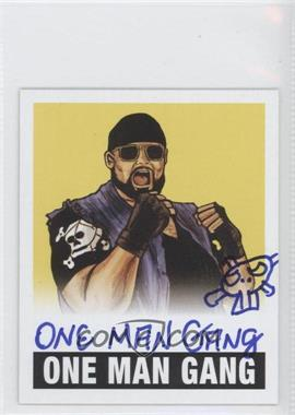 2012 Leaf Originals Wrestling - [Base] - Yellow #OMG - One Man Gang /99