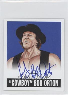 2012 Leaf Originals Wrestling Blue #01 - Bob Orton /25