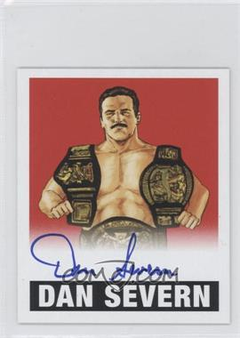 2012 Leaf Originals Wrestling Red #DS1 - Dan Severn /10