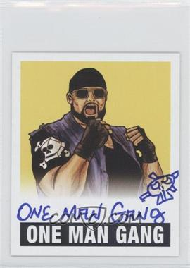 2012 Leaf Originals Wrestling Yellow #N/A - One Man Gang /99