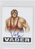 Vader (Blue Ink)