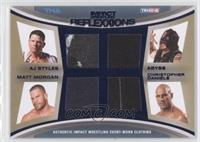 AJ Styles, Abyss, Matt Morgan, Christopher Daniels /25