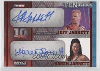 Jeff Jarrett, Karen Jarrett /10