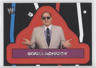 2012 Topps Heritage WWE [???] #11 - Gorilla Monsoon