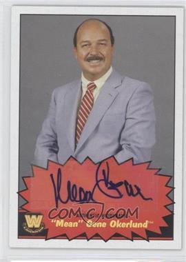 """2012 Topps Heritage WWE Autographs #GEOK - """"Mean"""" Gene Okerlund"""