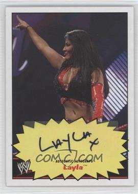 2012 Topps Heritage WWE Autographs #LA - Layla