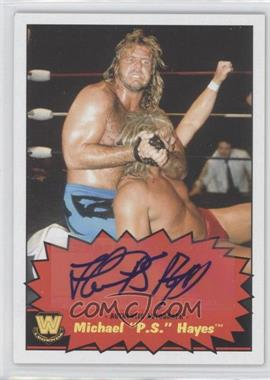 """2012 Topps Heritage WWE Autographs #MIHA - Michael """"P.S."""" Hayes"""