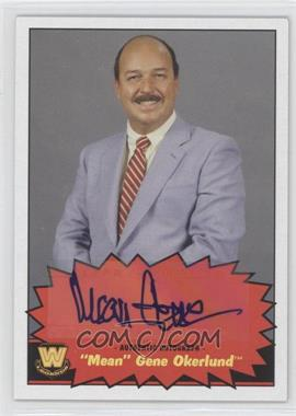 2012 Topps Heritage WWE Autographs #NoN - Gene Okerlund