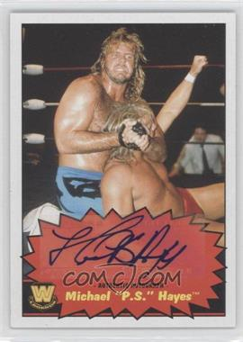 "2012 Topps Heritage WWE Autographs #NoN - Michael ""P.S."" Hayes"