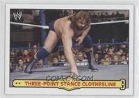 Three-Point Stance Clothesline (Jim Duggan)