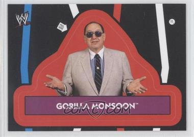 2012 Topps Heritage WWE Stickers #11 - Gorilla Monsoon