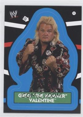 "2012 Topps Heritage WWE Stickers #12 - Greg ""The Hammer"" Valentine"