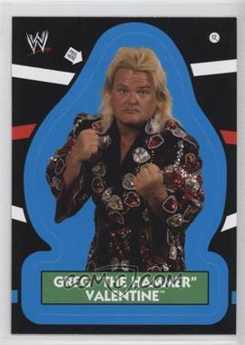 "2012 Topps Heritage WWE Stickers #12 - Greg ""The Hammer"" Valentine"