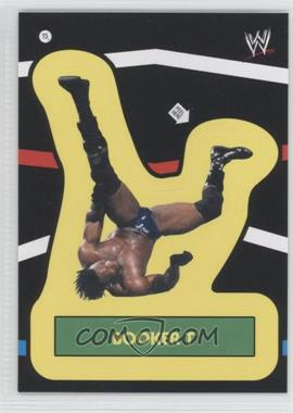 2012 Topps Heritage WWE Stickers #15 - Booker T