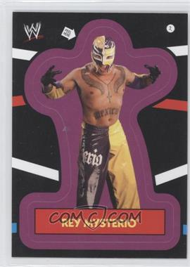 2012 Topps Heritage WWE Stickers #2 - Rey Mysterio